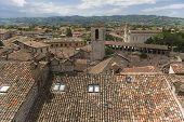 Gubbio View From The Palazzo Dei Podesta