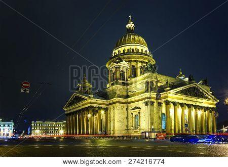 Saint Petersburg Saint Isaacs Cathedral