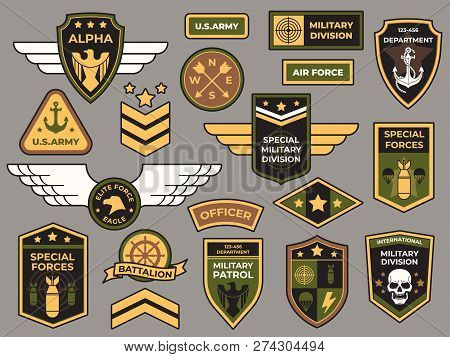 Army Badges Military Patch Air