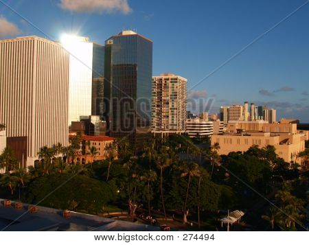 poster of Honolulu City