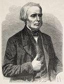 Joseph Gensoul alten gravierte Porträt, französischer Chirurg. erstellt von Marc, veröffentlicht am l ' Illustration,