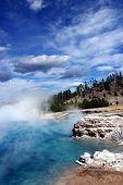 Yellowstone Thermal Lake