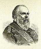Porträt von König der Niederlande Wilhelm Iii. Illustration von Alwin Zschiesche, veröffentlicht am