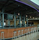 Empty Upscale Bar