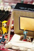 Miniature Maintenance Team