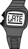 Vector Watch with LATE Face