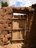 Door Of Farm, Peru