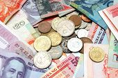 foto of currency  - suitable for background depicting world currency - JPG