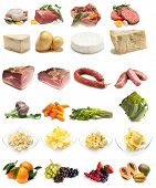 stock photo of raw chicken sausage  - collection of food - JPG