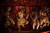 The Santuary Of Truth- Wooden Statue Pattaya