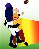 Постер, плакат: Футбол вектор