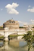 Bridge And Castle Sant Angelo