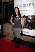 LOS ANGELES - OCT 30:  Rileah Vanderbilt arrives at the