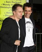 LOS ANGELES - OCT 30:  Sam Rockwell, Colin Farrell  at the