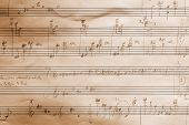 Handwritten Musical Score