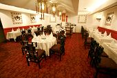 pic of chinese restaurant  - view of luxury chinese restaurant in hotel - JPG