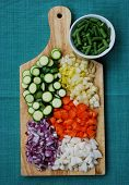 Vegetables Palette