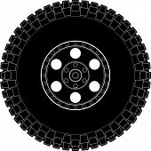 off road tire symbol