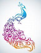 Diwali Peacock