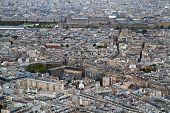 Aerial View Paris