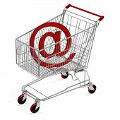 Shopping Cart With E-mail