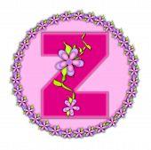 Alphabet Daisy Chain Z
