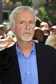 LOS ANGELES - OCT 3: James Cameron at a ceremony as Gale Anne Hurd is honored with a star on the Hol