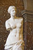 A Vênus De Milo estátua
