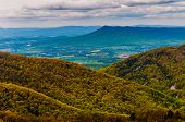 View Of Massanutten Peak And The Shenandoah Valley From Skyline Drive In Shenandoah National Park, V
