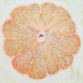 Pampelmuse oder chinesische Grapefruit