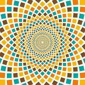 Arabesque in color. Vector illustration.