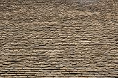 image of tithe  - Vintage stone roof tiles from tithe barn - JPG