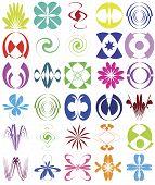 Set of esoteric design elements
