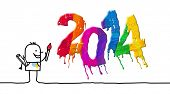 artist & painted 2014