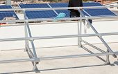 Support Structure For Solar Panel