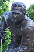 The monument to Maurice Richard