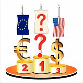 The Big Question. Economic And Financial Crisis Theme.