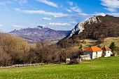 Homolje mountains in early spring,  east Serbia