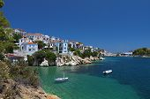Skiathos island in Greece