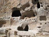 Cave Homes In Bandelier National Monument