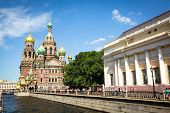 ST.PETERSBURG, RUSSIA - JUNE 22: The Church of the Savior on Spilled Blood is one of the main sights