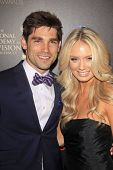 BEVERLY HILLS - JUN 16: Justin Gaston, Melissa Ordway at the 40th Annual Daytime Emmy Awards at The Beverly Hilton Hotel on June 16, 2013 in Beverly Hills, California