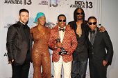 LOS ANGELES - JUN 30: Justin Timberlake, India.Arie, Charlie Wilson, Snoop Dogg, Pharrell Williams a