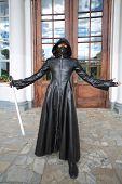 MOSCOW - SEPTEMBER 8: Darth Vader at festival Everycon near House of Culture in VVC, on September 8,