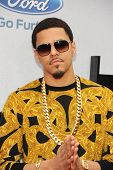LOS ANGELES - JUN 30: J. Cole at the 2013 BET Awards at Nokia Theater L.A. Live on June 30, 2013 in