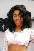 LOS ANGELES - JUN 30: Sevyn Streeter at the 2013 BET Awards at Nokia Theater L.A. Live on June 30, 2
