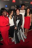 BEVERLY HILLS - JUN 16: Sheryl Underwood, Sara Gilbert, Sharon Osbourne, Aisha Tyler, Julie Chen at