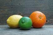 Lemon, Lime & Orange
