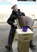 The Old Man Plays The Accordion.