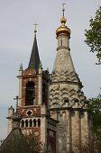 The dome. Transfiguration Church in the village of Ostrov.